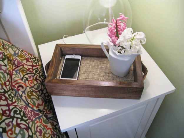 DIY Wooden Tray