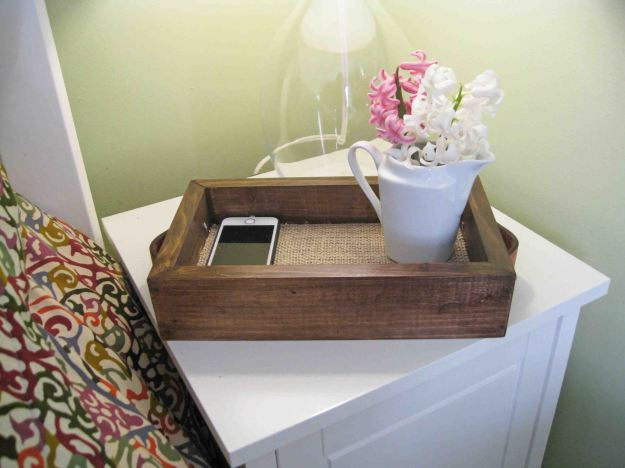 how to build a wooden tray