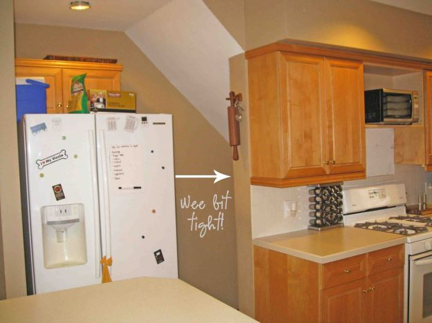 Kitchen Remodel- Narrow Path