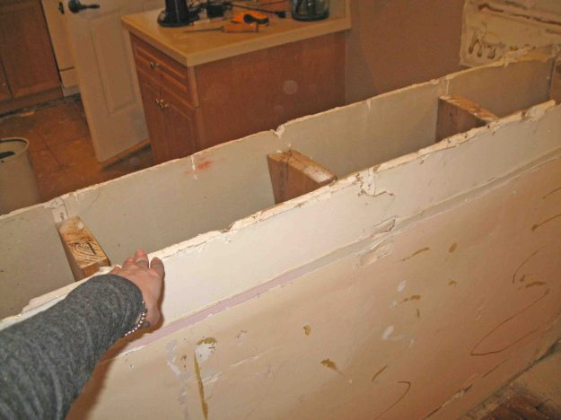 Removing Kitchen Island