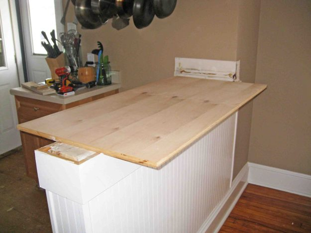 Removing a Kitchen Island