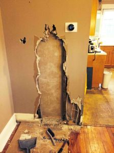 Removing a Kitchen Wall